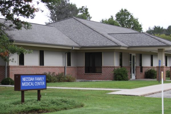 Exterior of Necedah Family Medical Clinic